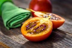 Tamarillo de fruit frais Image stock