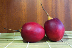 Tamarillo exotic fruit. Of South America Stock Photos