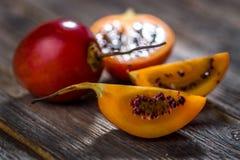 Tamarillo för ny frukt Fotografering för Bildbyråer