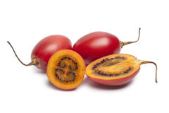 Tamarillo fruit. On white background Stock Photos