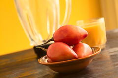 Tamarillo Fruit Stock Image