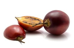 Tamarillo fruit isolated Royalty Free Stock Images