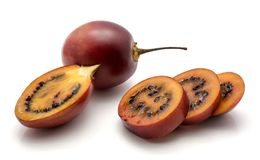 Tamarillo fruit isolated Royalty Free Stock Photos