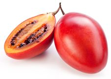 Tamarillo fruits with slice Royalty Free Stock Photos