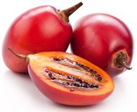 Tamarillo fruits with slice Royalty Free Stock Photo