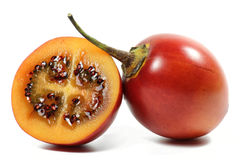 Tamarillo. Isolated on white background Stock Photo