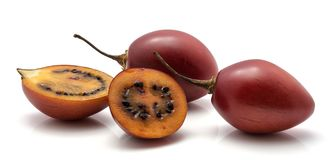 Tamarillo fruit isolated Royalty Free Stock Photography