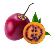 Tamarillo isolated on white Royalty Free Stock Images