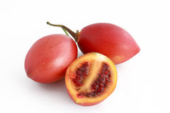 Tamarillo over white background Stock Image