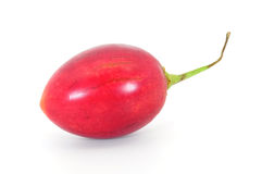 Tamarillo side Stock Photos