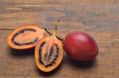 Tamarillofrucht Lizenzfreie Stockfotos
