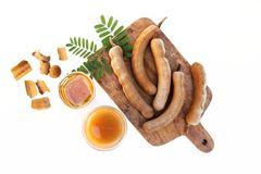 Free Tamarind And Tamarind Juice With Honey Stock Photo - 106572430