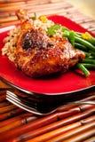Tamarind Barbecue Duck Stock Photo
