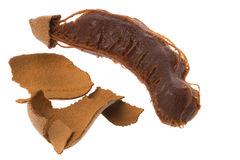 Tamarind Isolated Royalty Free Stock Photography