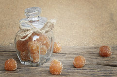Tamarind mixed with granulated sugar Stock Image