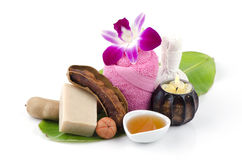 Tamarind Soap mix honey Stock Photography