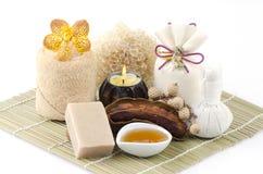 Tamarind Soap mix honey Royalty Free Stock Photography