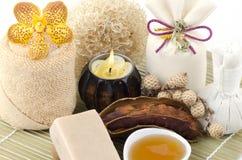 Tamarind Soap mix honey Stock Photos