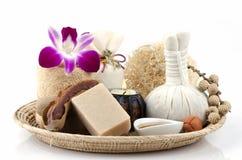 Tamarind Soap mix honey Royalty Free Stock Photos