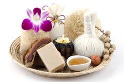 Tamarind Soap mix honey Royalty Free Stock Photo