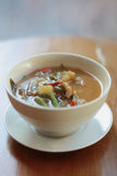 Tamarind vegetable soup Royalty Free Stock Photography