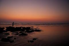 Tamarindo beach Stock Photography