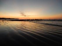 Tamarindo Costa Rica Sunset Stock Photos