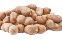 Tamarindo isolated on a white background with clipping path. Tamarind on a white background. Clipping path Stock Image