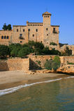 Tamarit Castle. (Tarragona, Spain), build between 11th and 12th centuries Royalty Free Stock Images