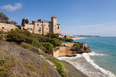 Tamarit Castle, Costa Daurada Royalty Free Stock Photography