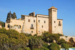 Tamarit Castle, in Tarragona, Spain Stock Photo