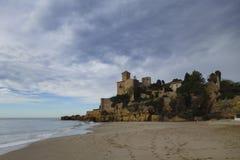 Tamarit castle in Tarragona, Spain Royalty Free Stock Photography