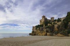 Tamarit castle in Tarragona, Spain Stock Photography