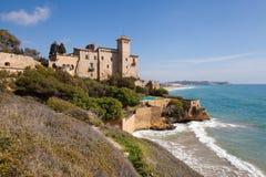 Tamarit-Schloss, Costa Daurada Lizenzfreie Stockfotografie