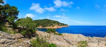 Tamariu bay, Costa Brava, Spain. Stock Images