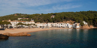 Tamariu, Costa Brava Stock Photo