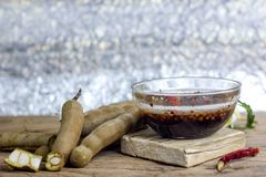 Tamarynda z Słodkim rybim kumberlandem Zdjęcia Stock