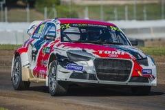 Tamas Karai Barcelona FIA świat Rallycross Obraz Stock