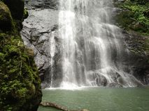 Tamasapi de la cascada Imagenes de archivo