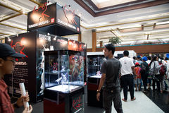 Tamashii Nations at Anime Festival Asia - Indonesia 2013 Royalty Free Stock Photography
