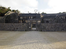 Tamaudun陵墓在冲绳岛日本 免版税库存照片