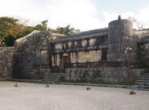 Tamaudun mausoleum i Okinawa Japan fotografering för bildbyråer