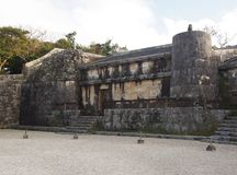 Tamaudun Mausoleum in Okinawa Japan. The mausoleum for 18 Ryuku kings and their families are entombed at Tamaudun preceding Ryukyu Kingdom and it is near Shuri Stock Image