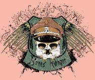 Guarda florestal dos ossos ilustração stock