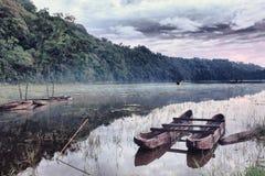 Tamblingan lake stock photos