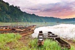 Tamblingan lake Royalty Free Stock Photography