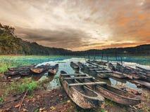 Tamblingan lake stock photography
