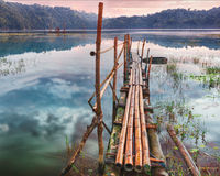 Tamblingan lake Stock Photo