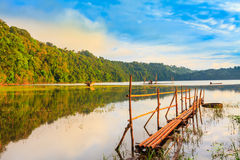 Tamblingan lake Stock Photography