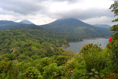Tamblingan Lake View in Bali Royalty Free Stock Photo